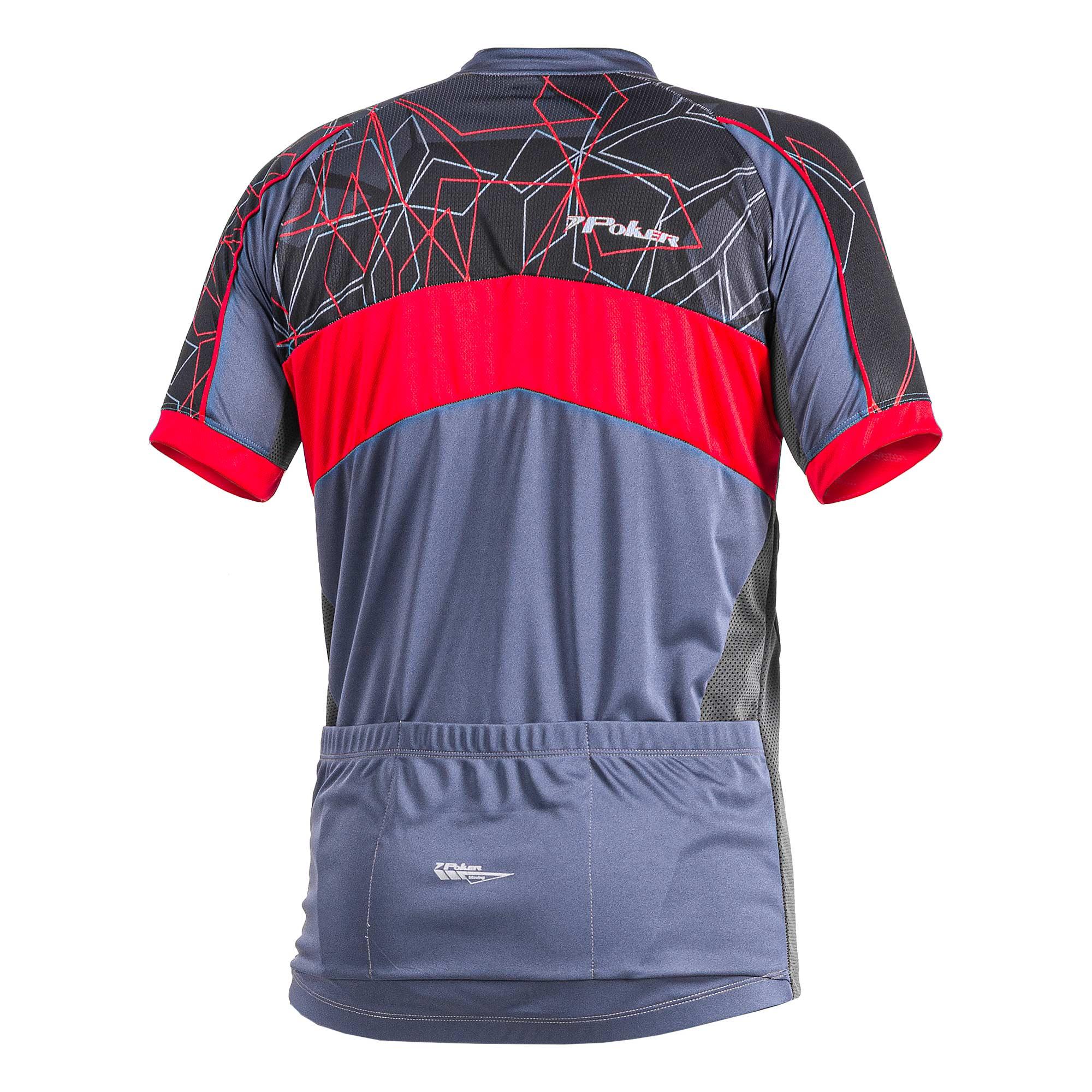 Camisa Ciclista C/ Zíper Fury 04189