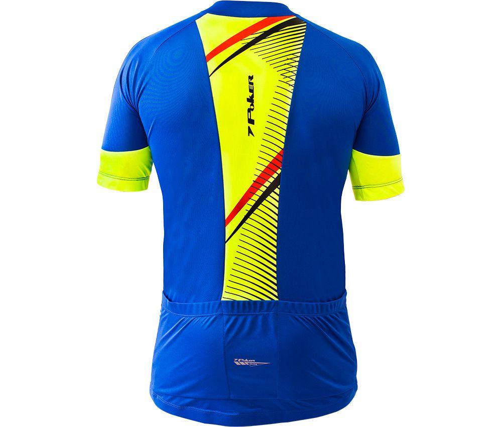 Camisa Ciclista C/ Zíper Hássio 04958