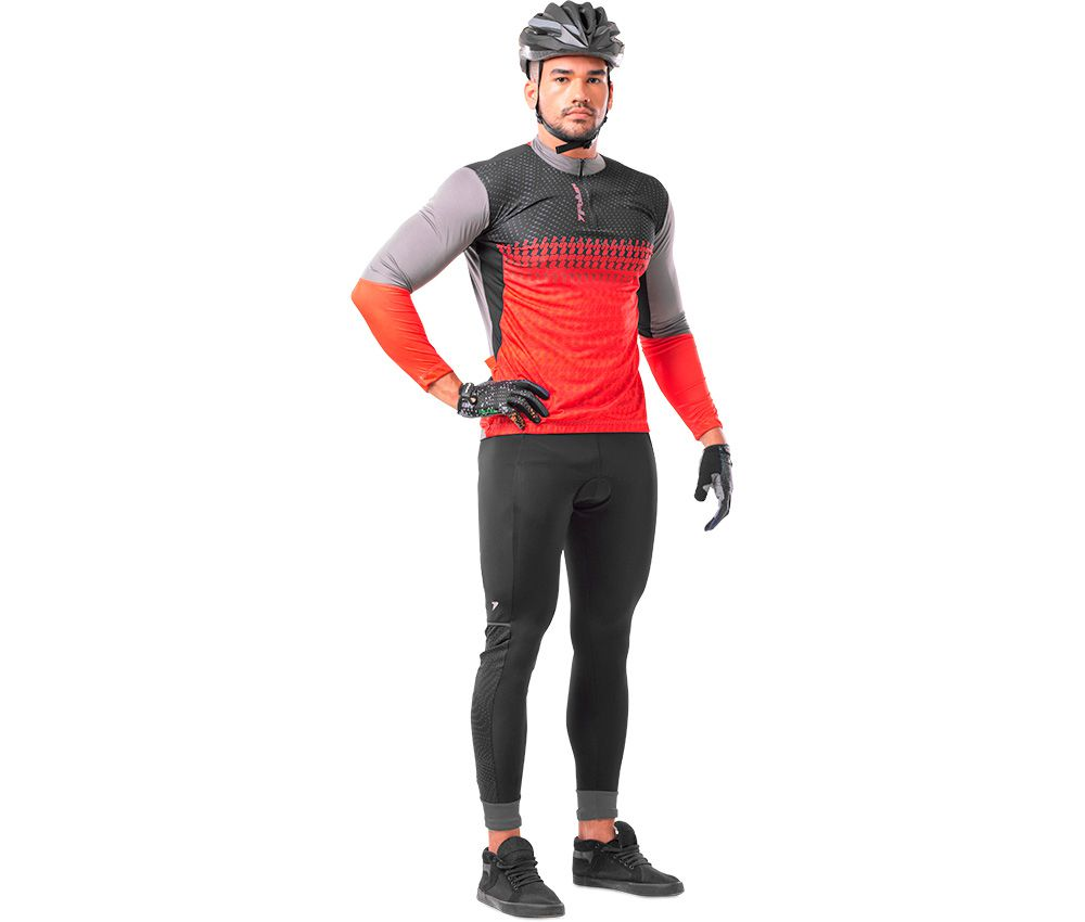 Camisa Ciclista C/ Zíper M/L Freeride II 04088