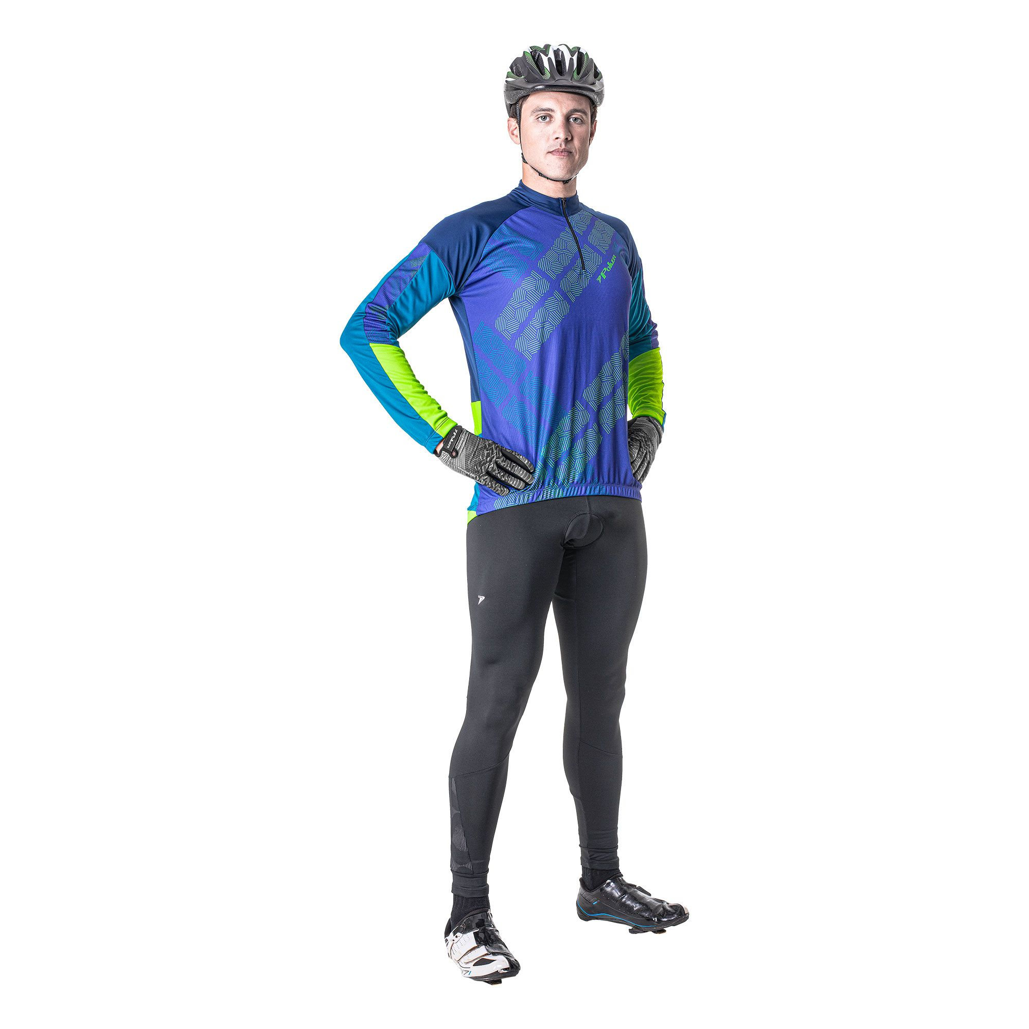 Camisa Ciclista C/ Zíper M/L Strike 04183