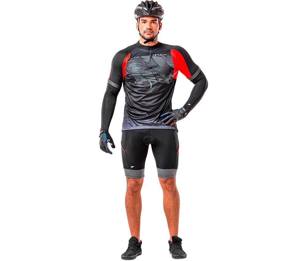 Camisa Ciclista C/ Zíper Quito 04094