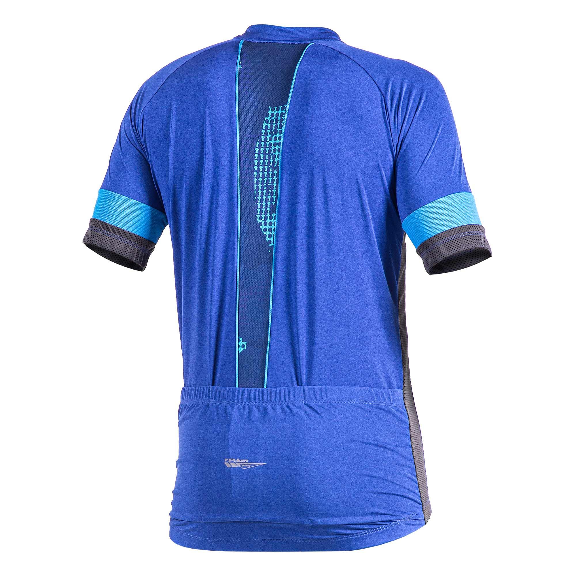 Camisa Ciclista C/ Zíper Total Defend 04185