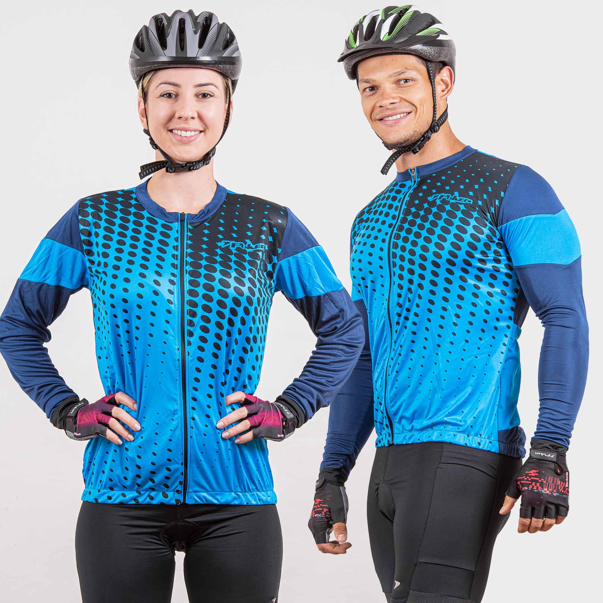 Camisa Ciclista C/ Zíper Total M/L Swift 04209