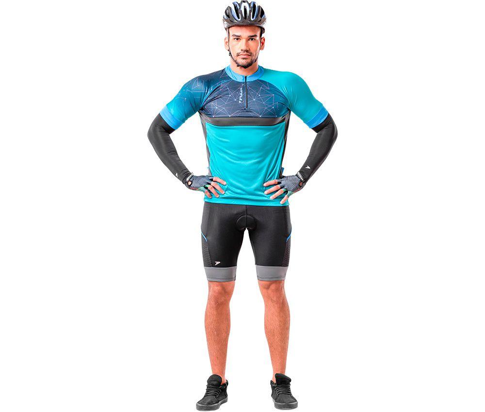 Camisa Ciclista C/ Zíper Trace II 04091