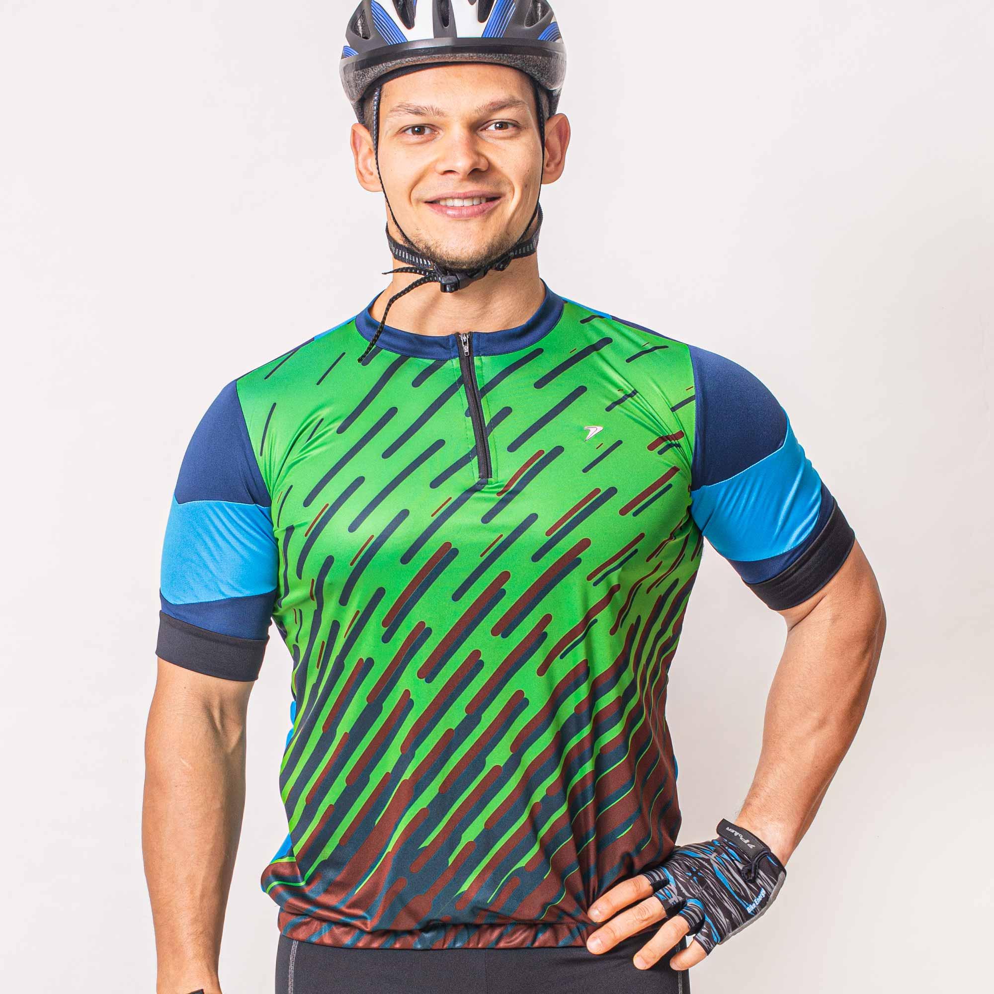 Camisa Ciclista com Zíper Nimble 04208