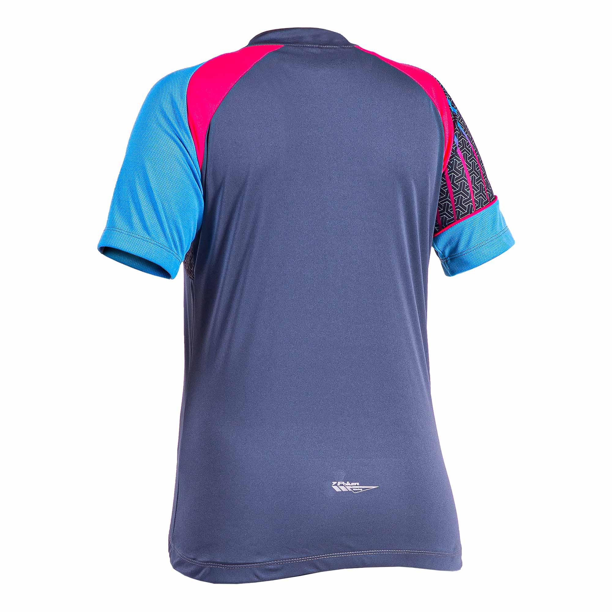 Camisa Ciclista Feminina C/ Ziper Delta 04187