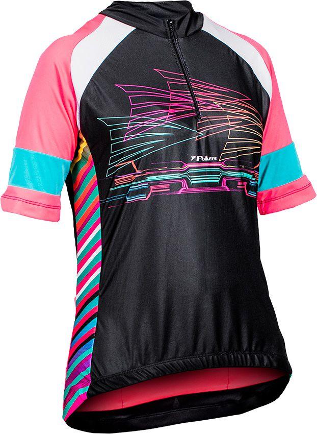 Camisa Ciclista Feminina C/ Zíper Platina II 04038