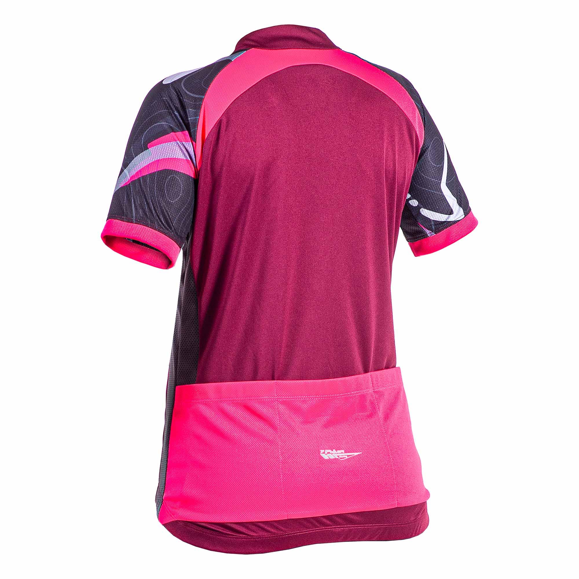 Camisa Ciclista Feminina C/ Ziper Total Way 04186