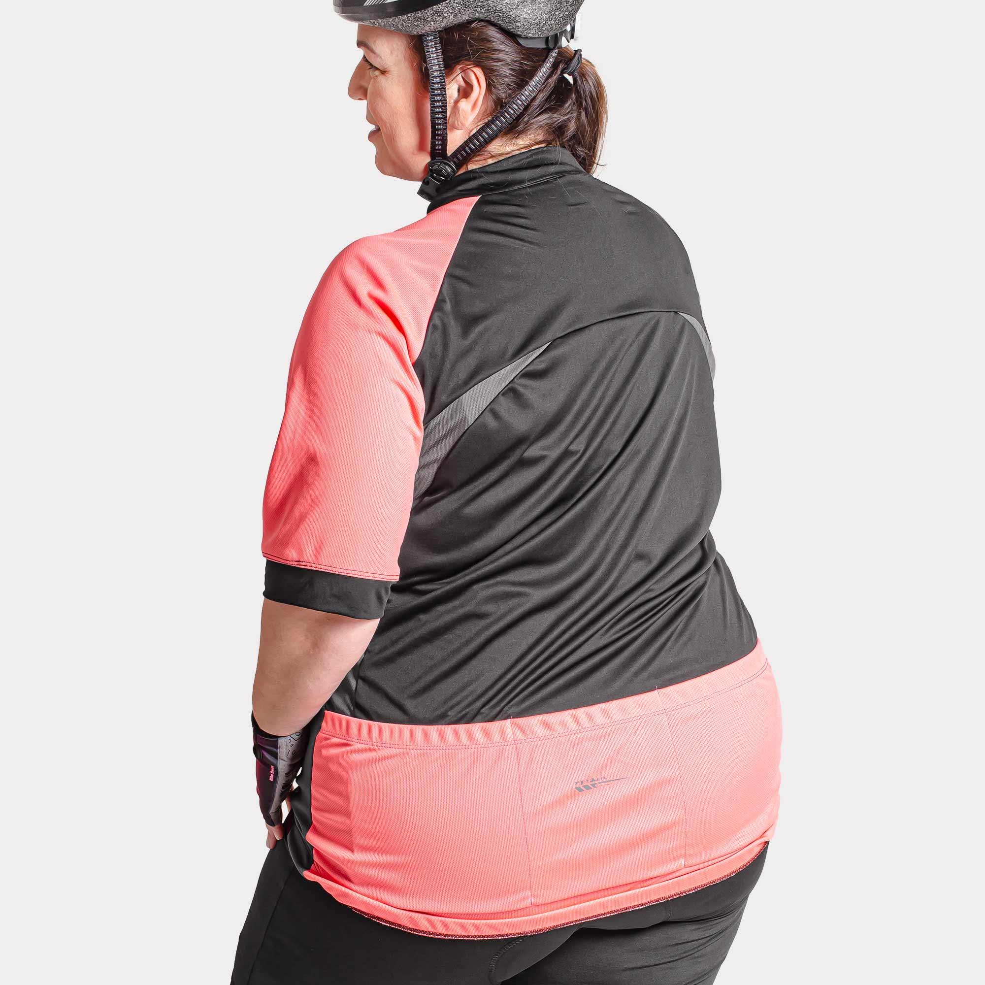 Camisa Ciclista M/C Zíper Parcial Feminina Root Extra Grande 04286