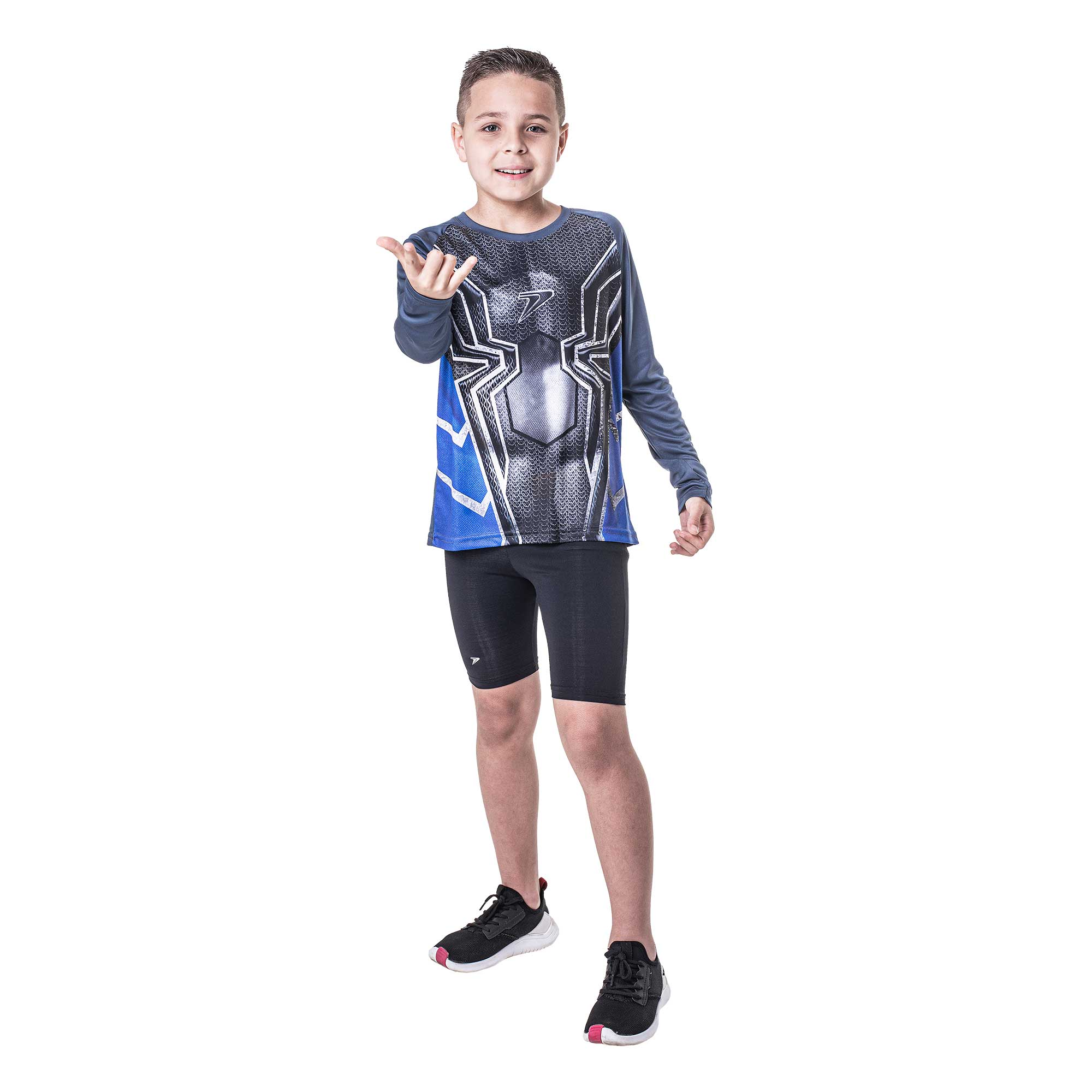 Camisa Fator de Proteção UV50+ Infantil Herois M/L 04179