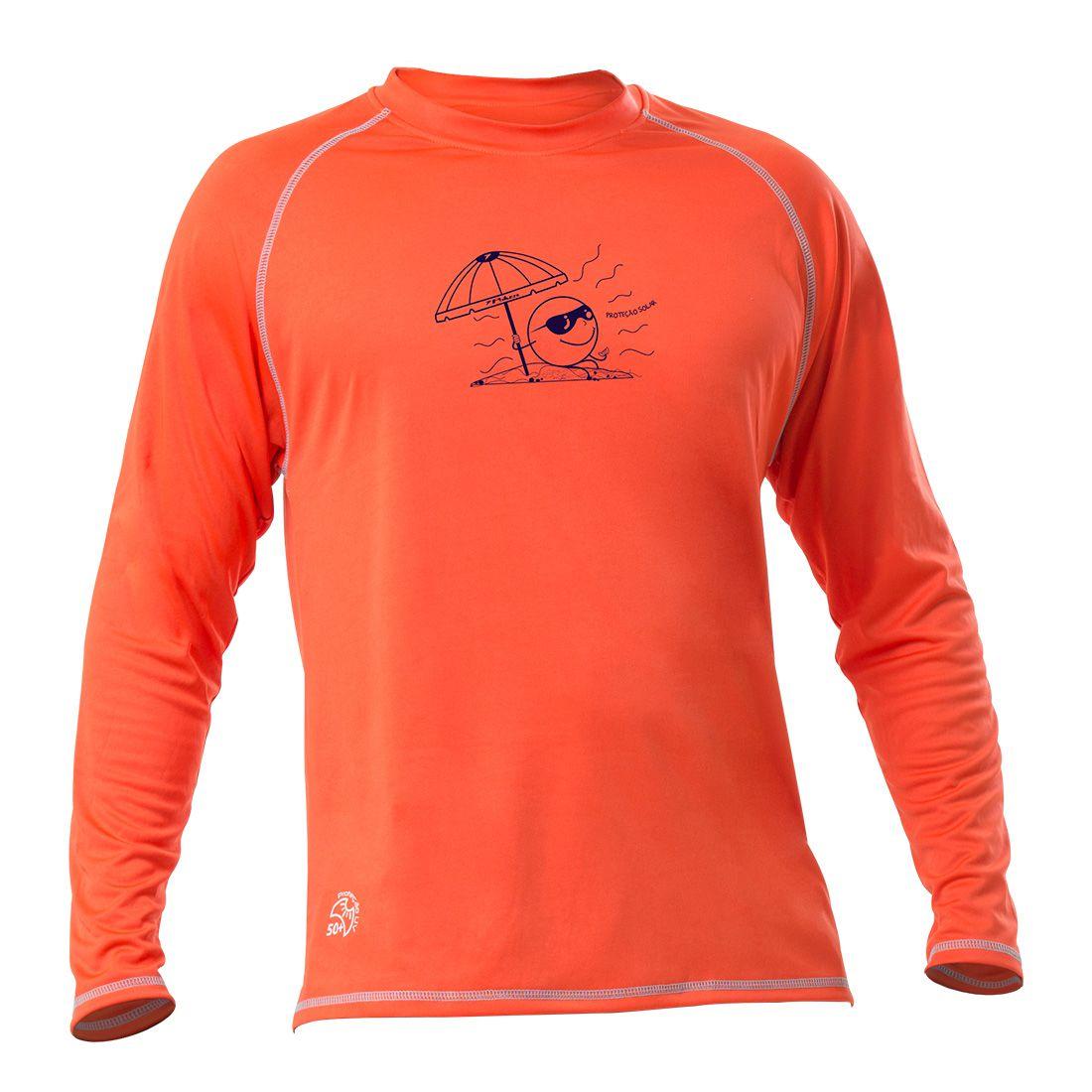 Camisa Fator de Proteção UV50+ Infantil M/L 04914