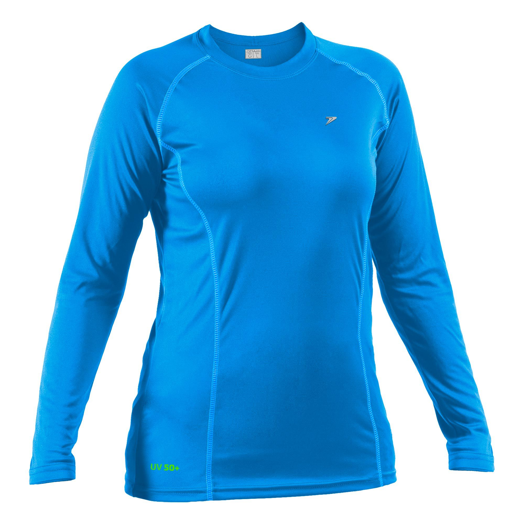 Camiseta Fator de Proteção UV50+ Feminina M/L 04053