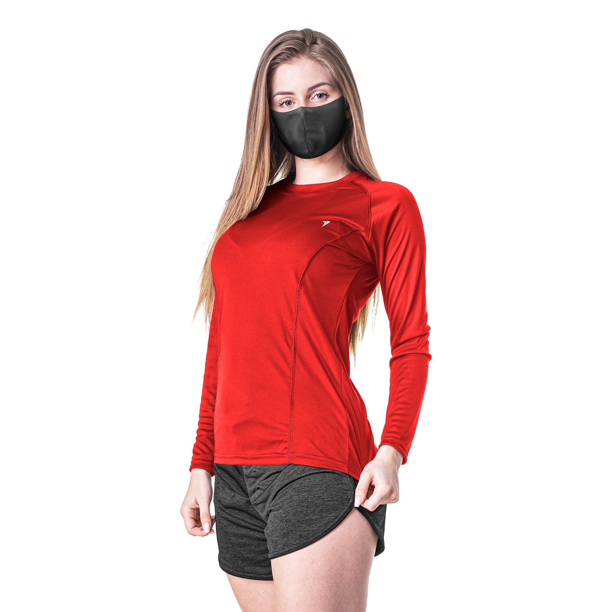 Camisa Feminina M/L Térmica UV Antiviral 04210
