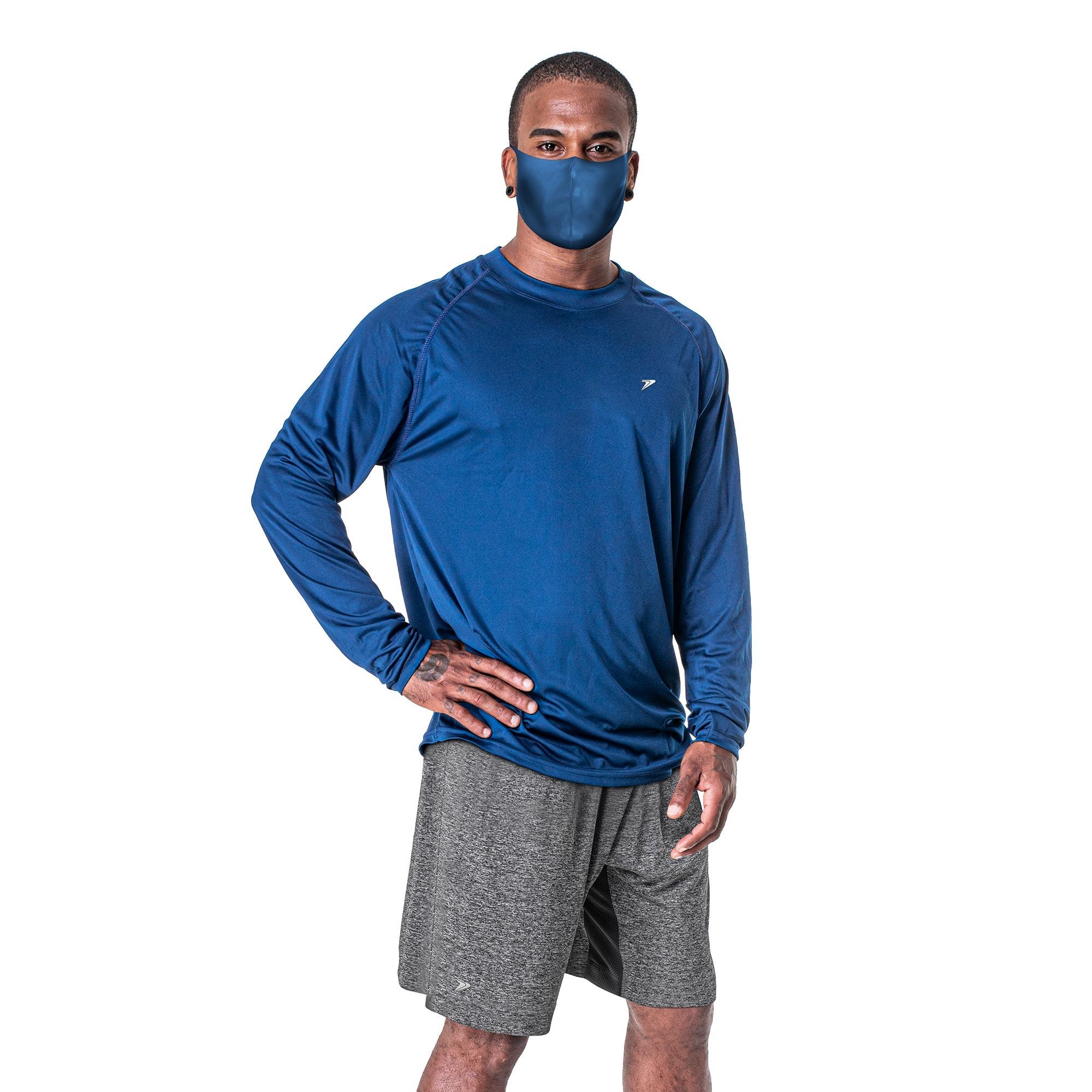 Camisa Masculina M/L Térmica UV Antiviral - COVID 19 04211