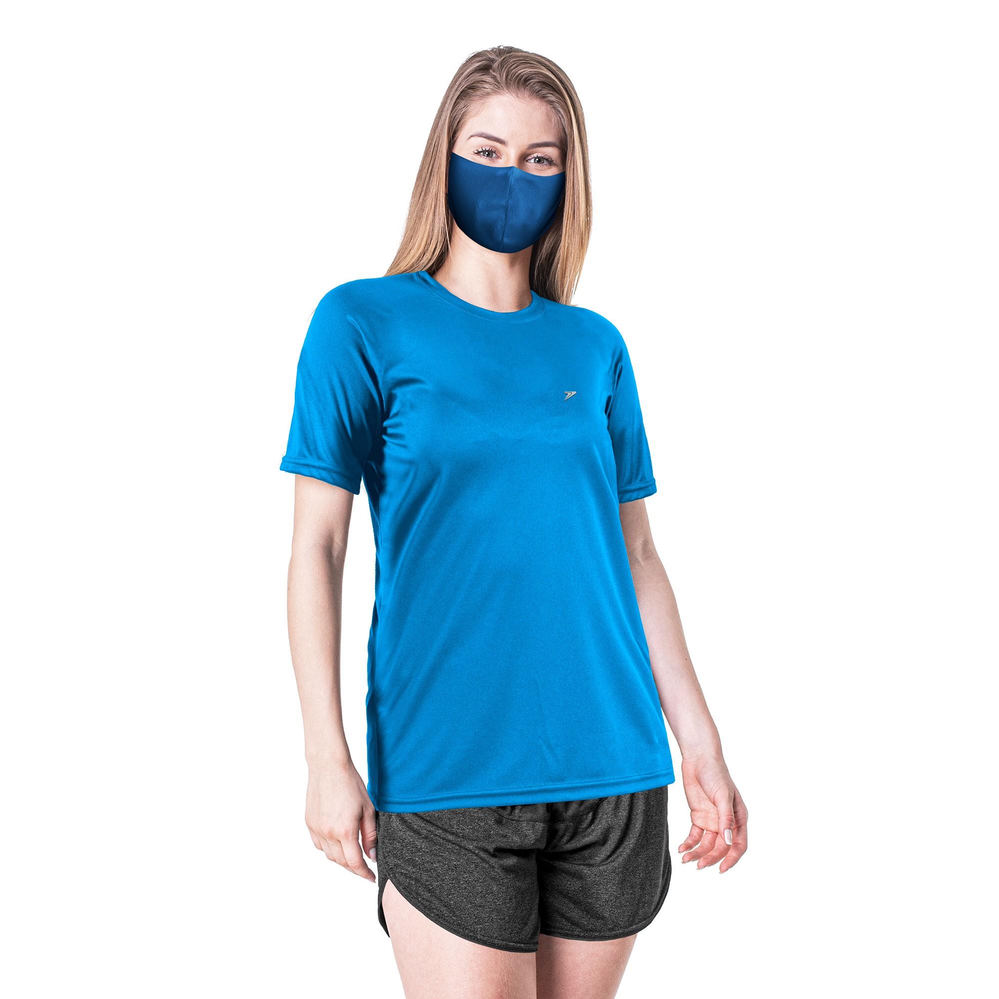 Camisa T-Shirt Basic Feminina UV Antiviral 04212