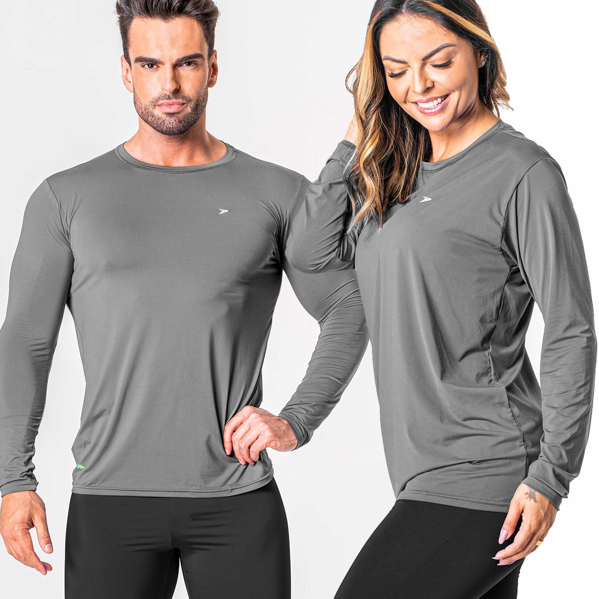 Camiseta Fator de Proteção Comfort Poliamida UV 50+ M/L 04126