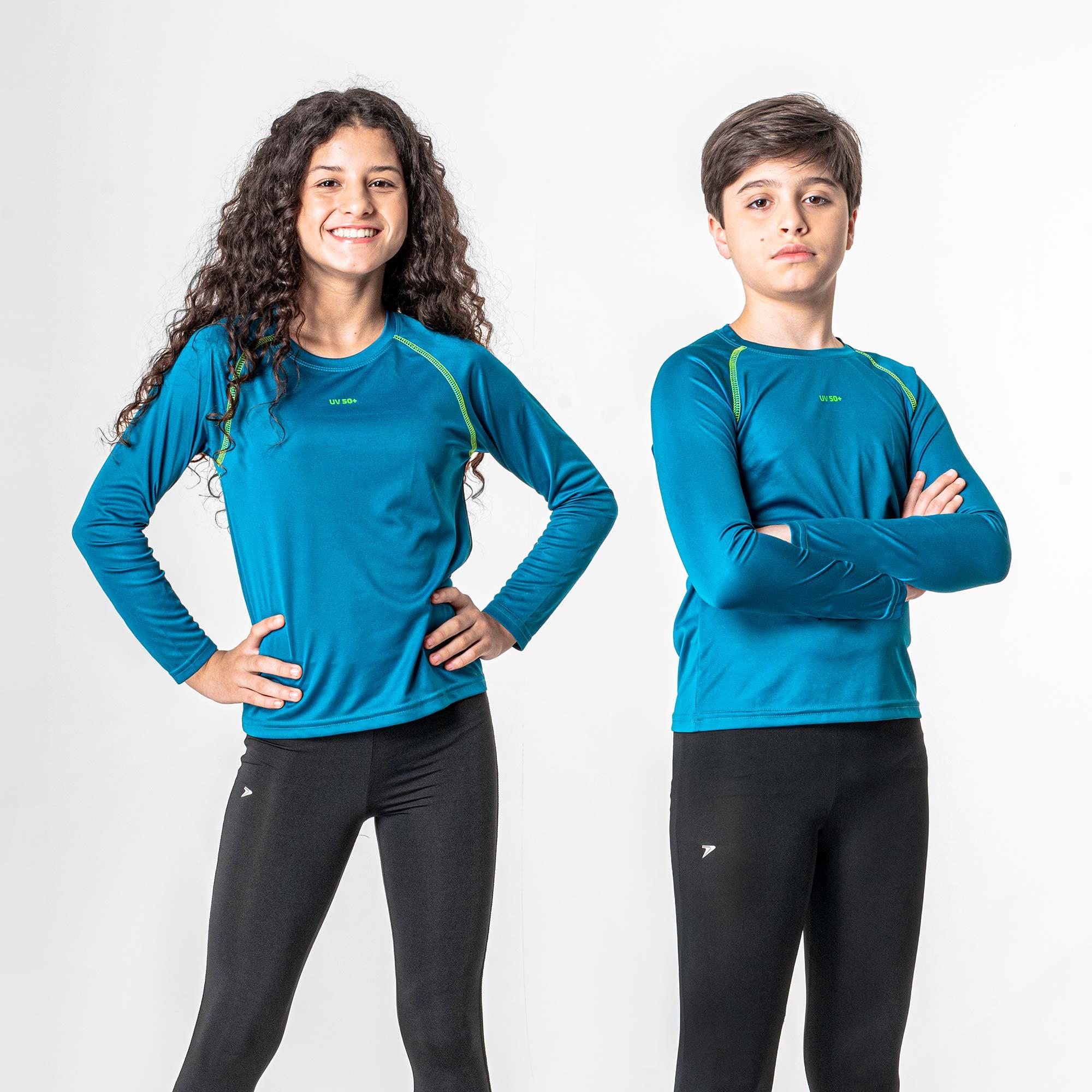Camiseta Fator de Proteção UV50+ Infantil III M/L 04178