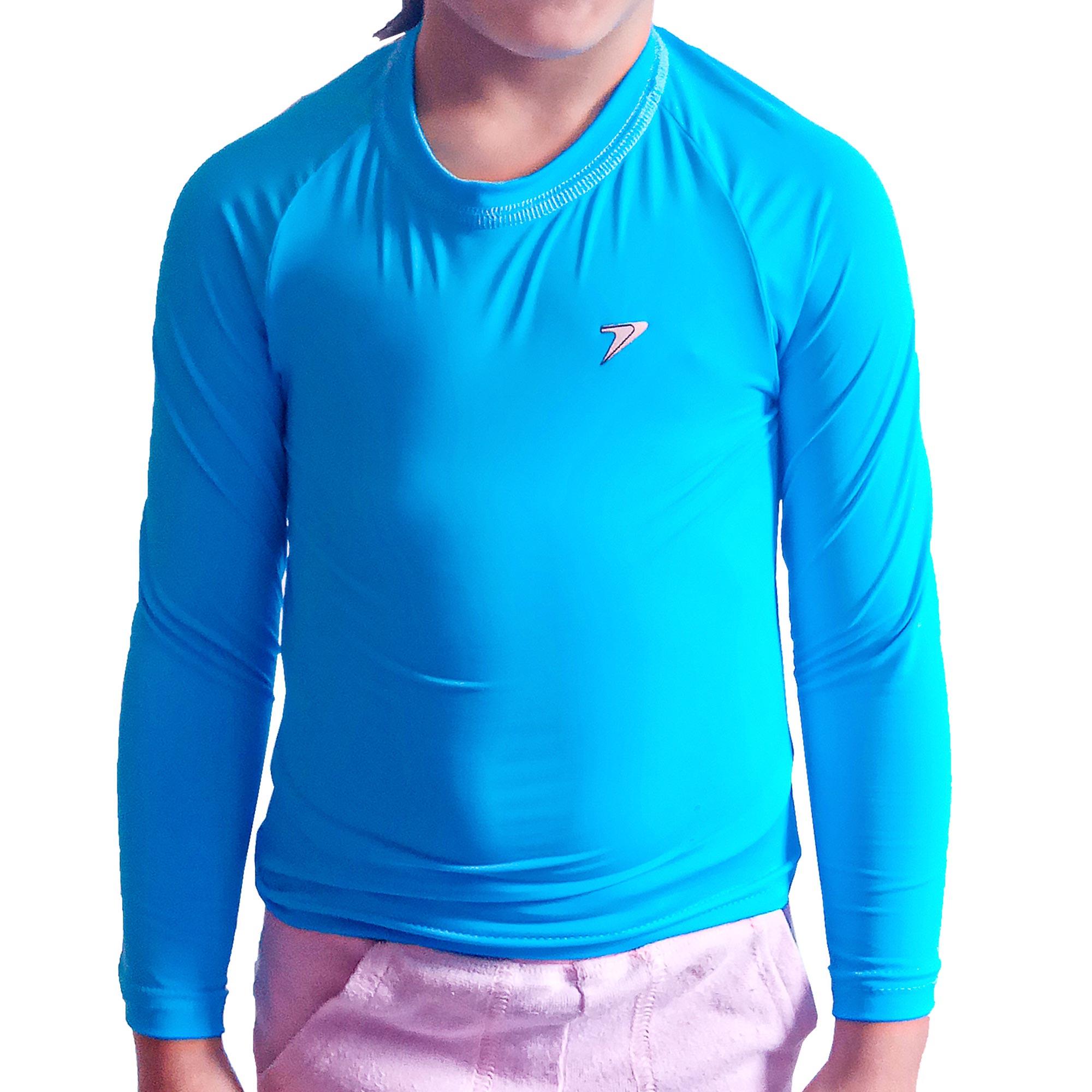 Camiseta Fator Proteção Comfort Bebê UV 50+ Poliamida Manga Longa (0 a 3 anos) 04272