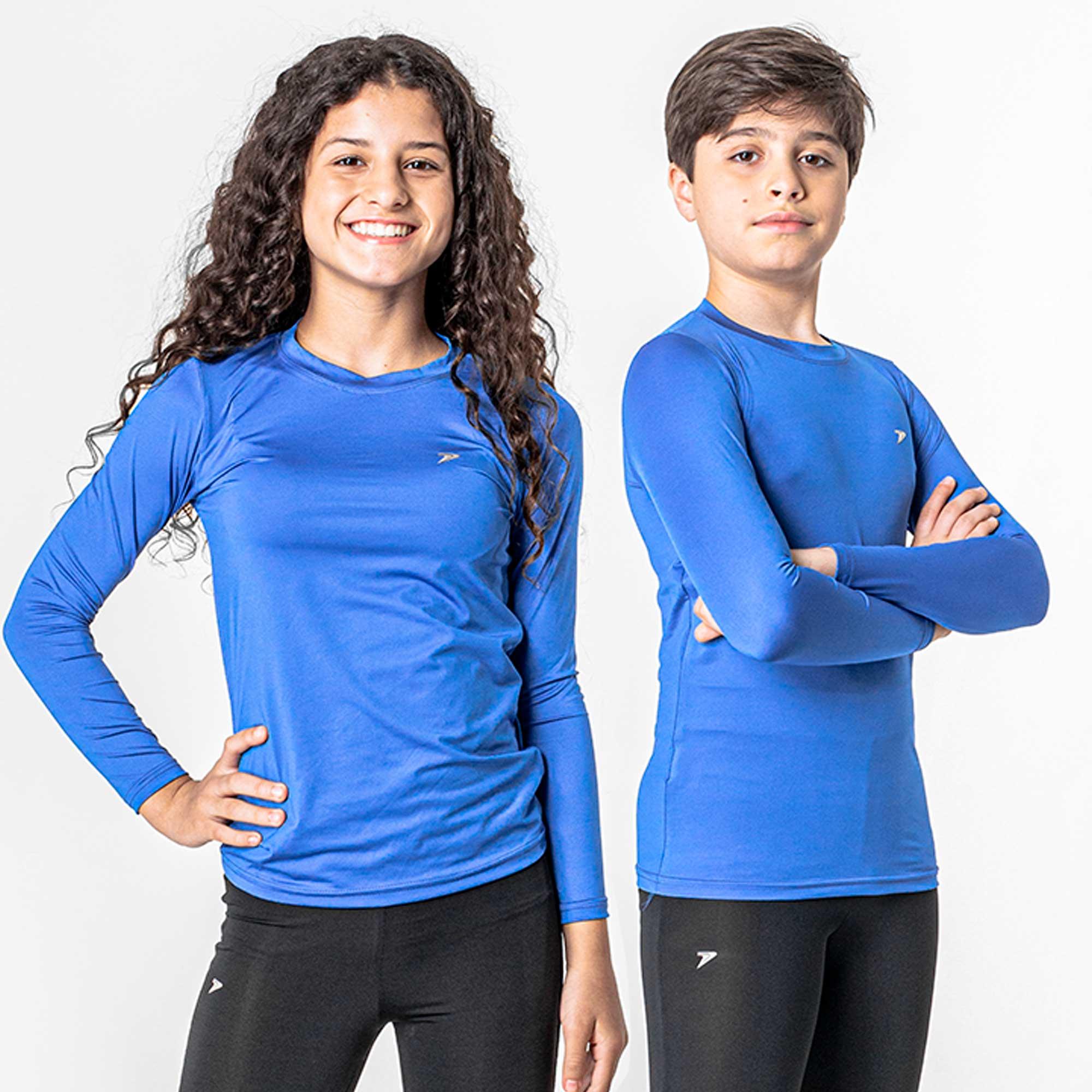Camiseta Térmica Skin Infantil II M/L 04177