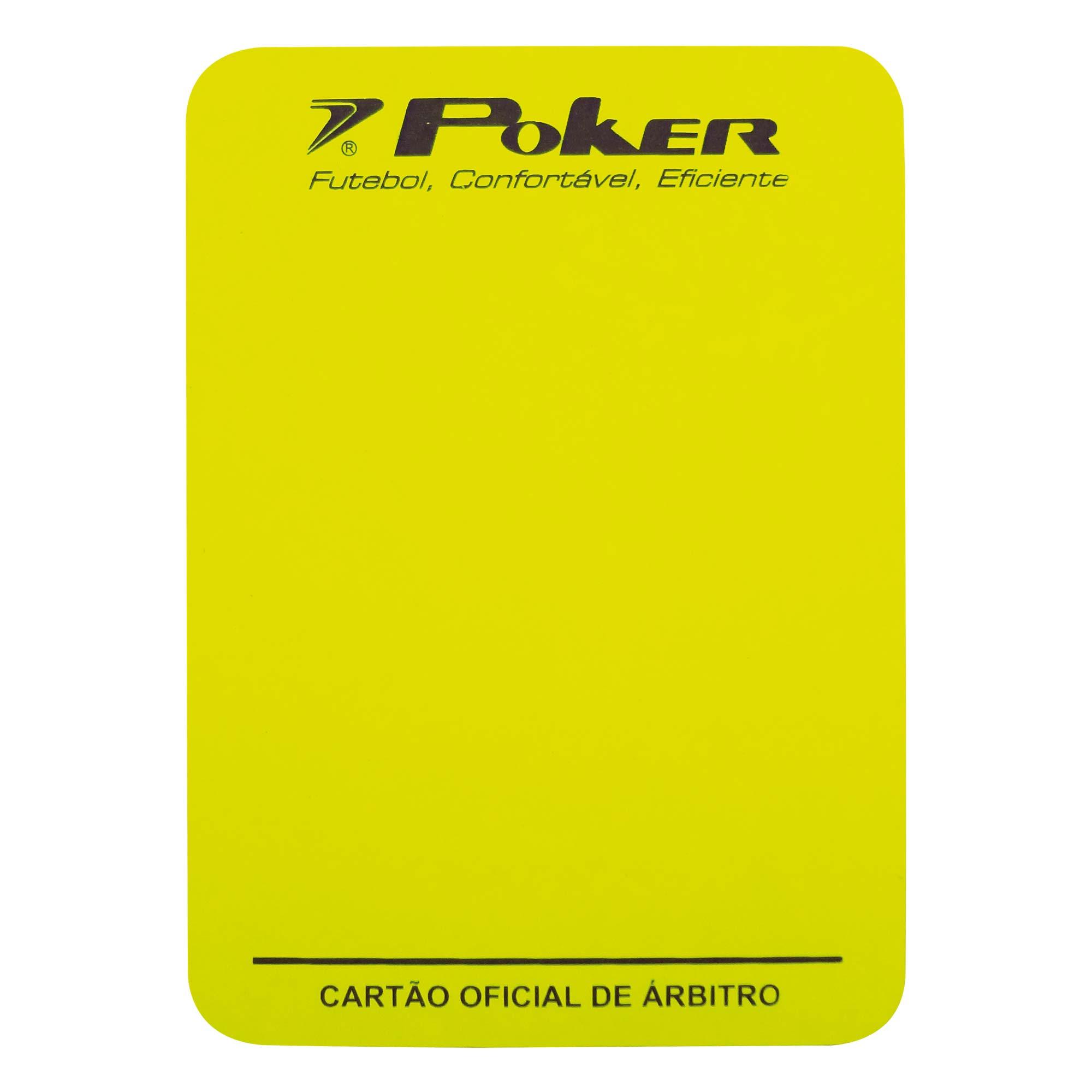 Cartao Campo Arbitro Oficial 08057