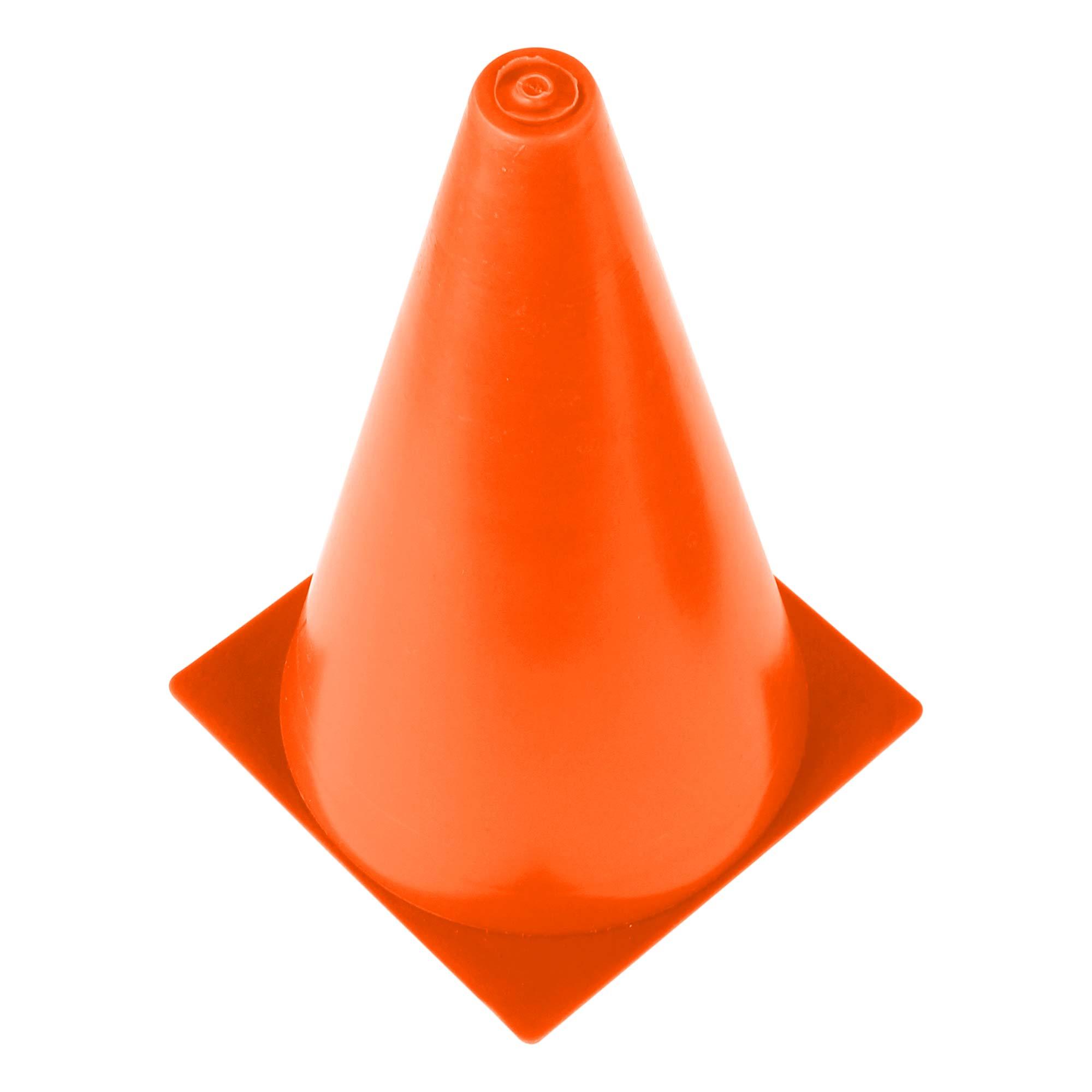 Cone de Marcação Treinamento 23cm Altura 13cm Diâmetro 09033