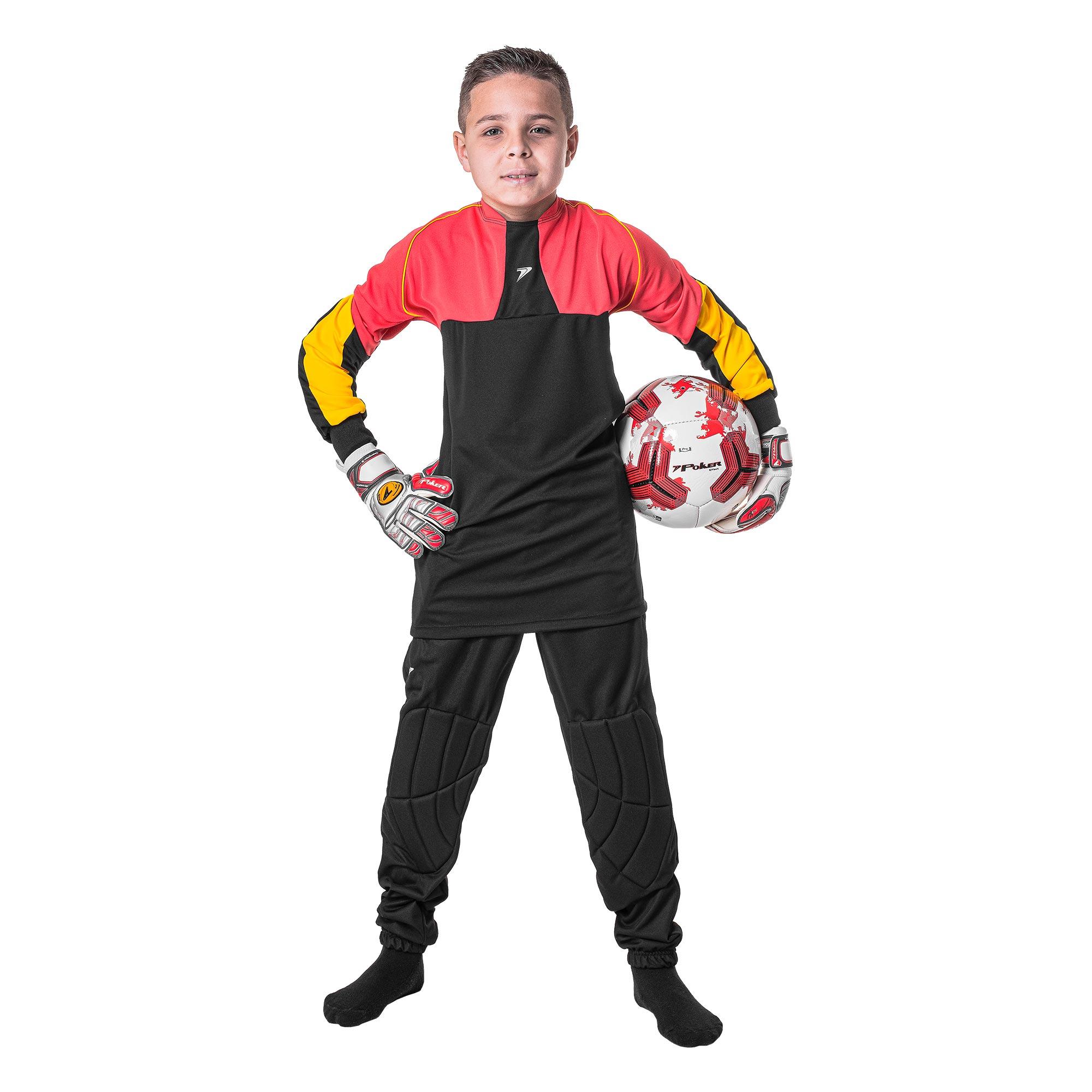 Conjunto Gol M/L Infantil Fort (Camisa + Calça+ Meia) 04157
