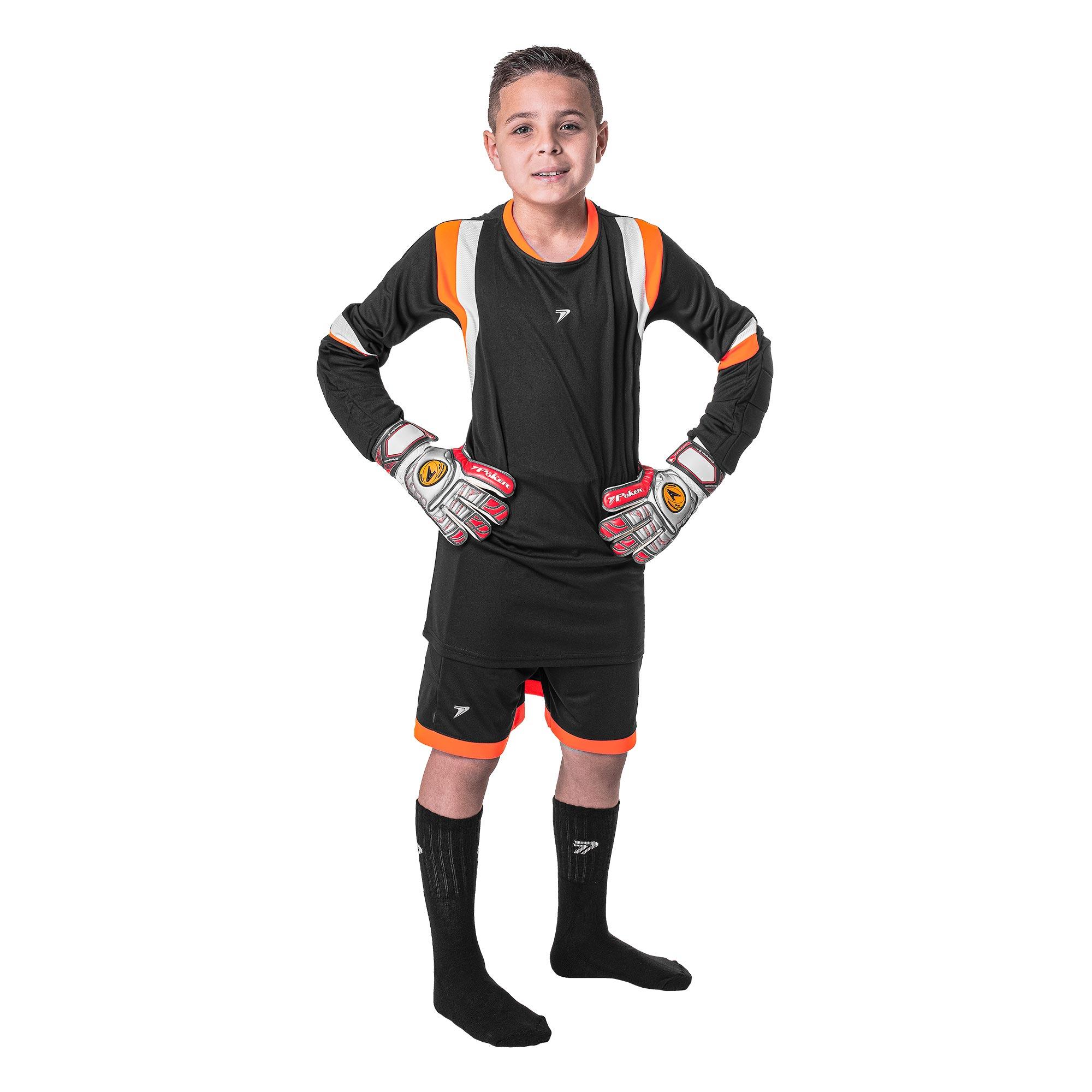 Conjunto Gol M/L Infantil Lock (Camisa + Calção + Meia) 04156