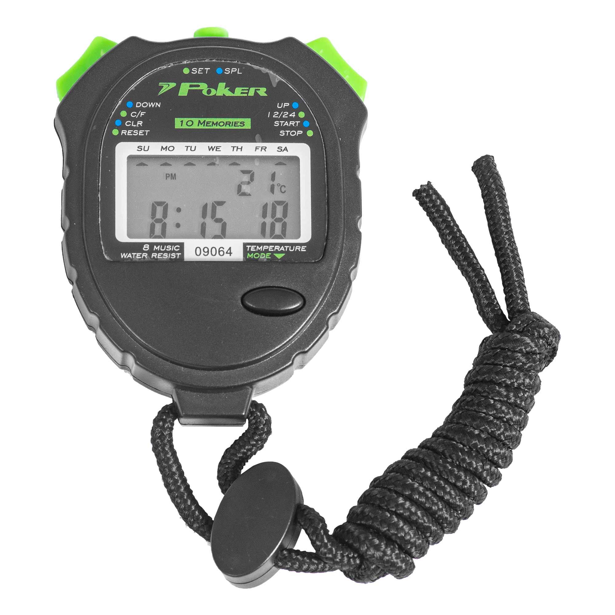 Cronômetro PRO Running 10 Voltas Digital 09064
