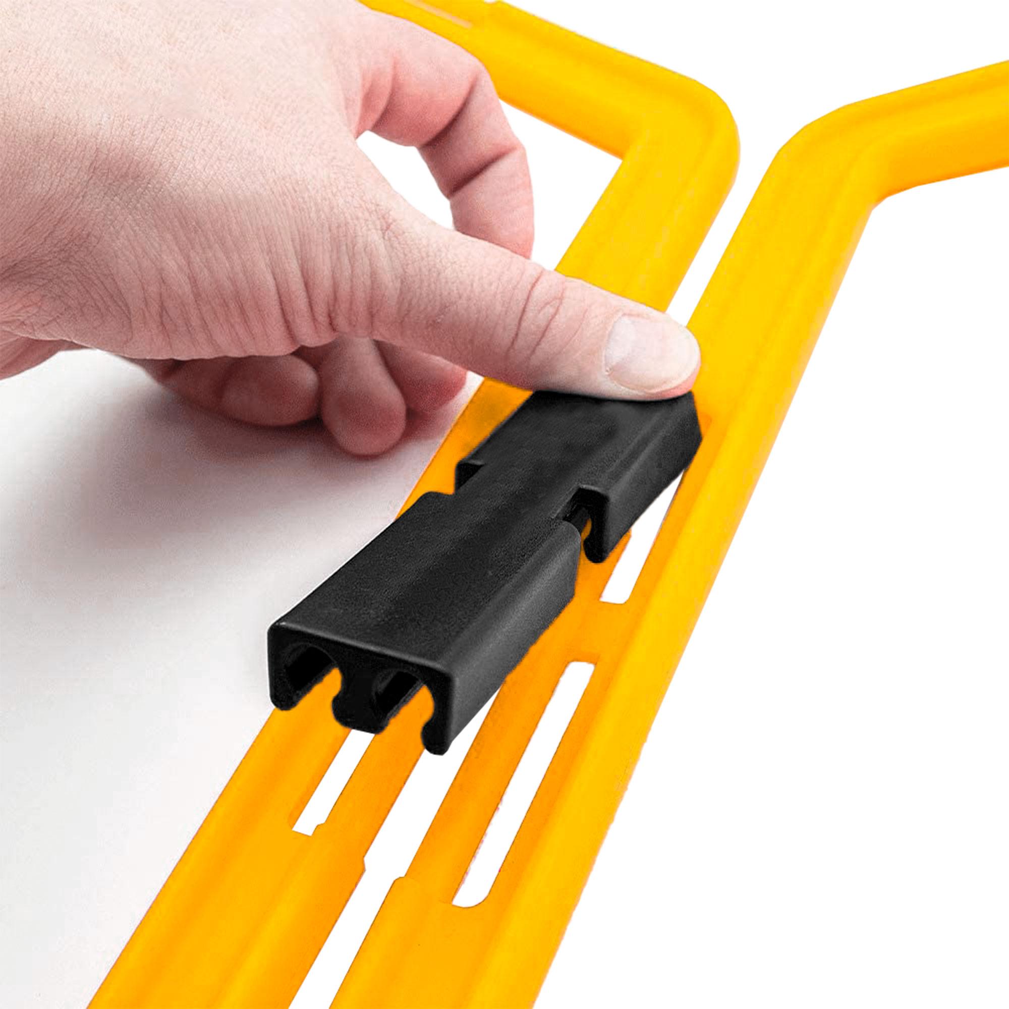 Escada Agilidade Pró Treinamento Funcional Hexagonal de PVC 6 Módulos- 50 cm 09117