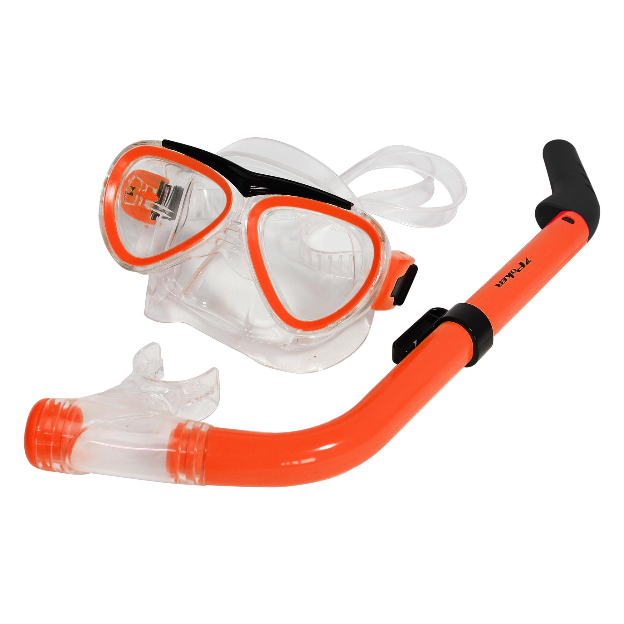 Kit de Mergulho Tinos com Mascara e Snorkel - Junior 13066