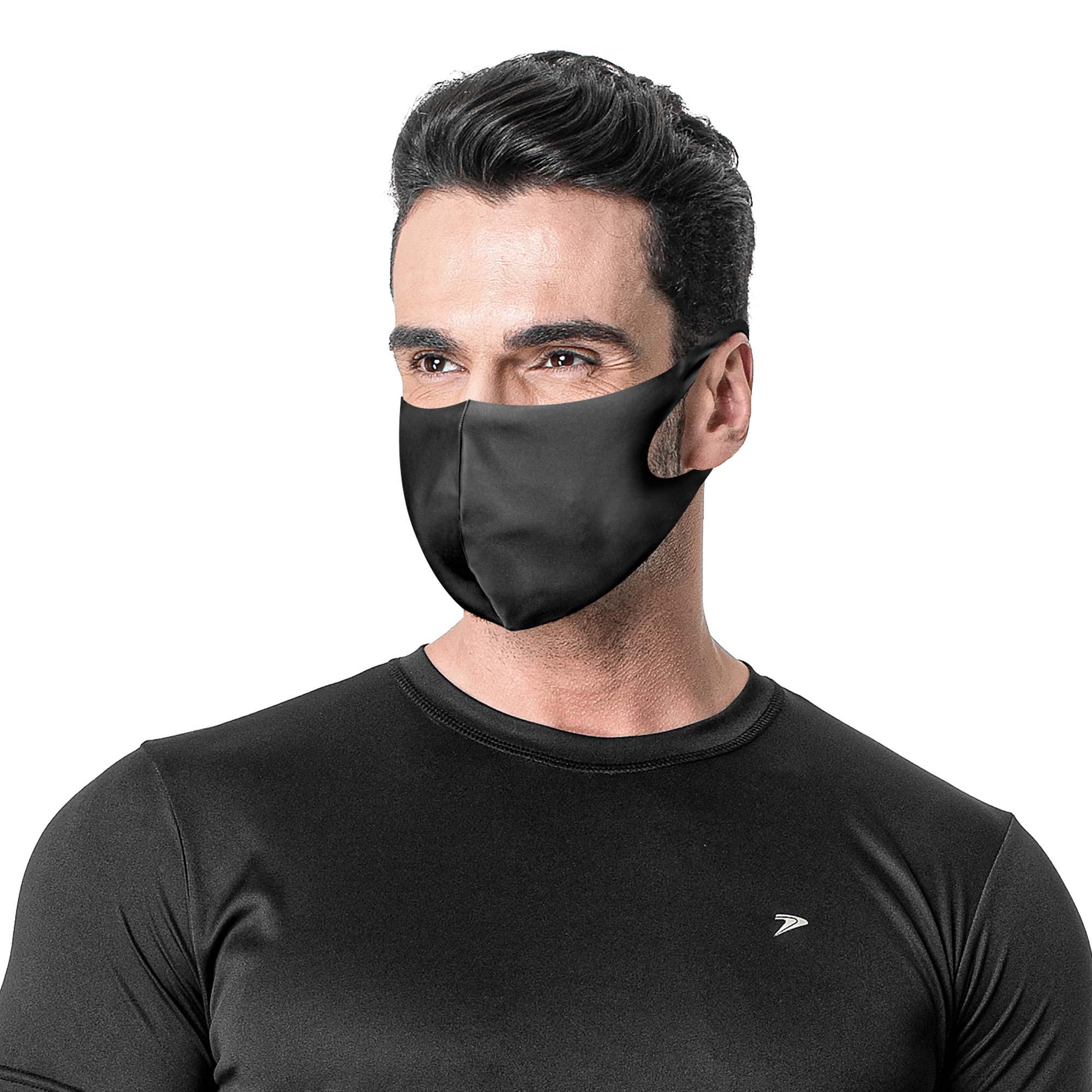 Máscara Multiesportiva Com Elastano Antiviral 09127