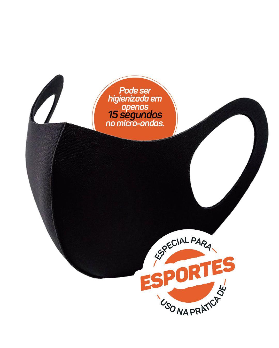 Mascara Multiesportiva com Elastano para Proteção Facial 09115