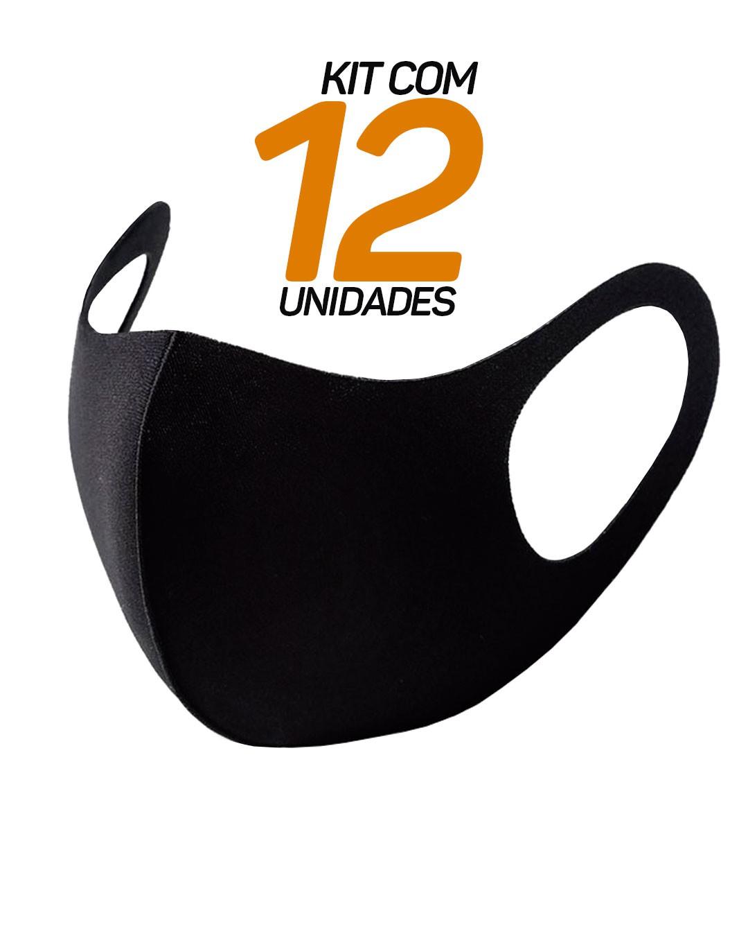 KIT - Pacote com 12 máscaras Multiesportivas