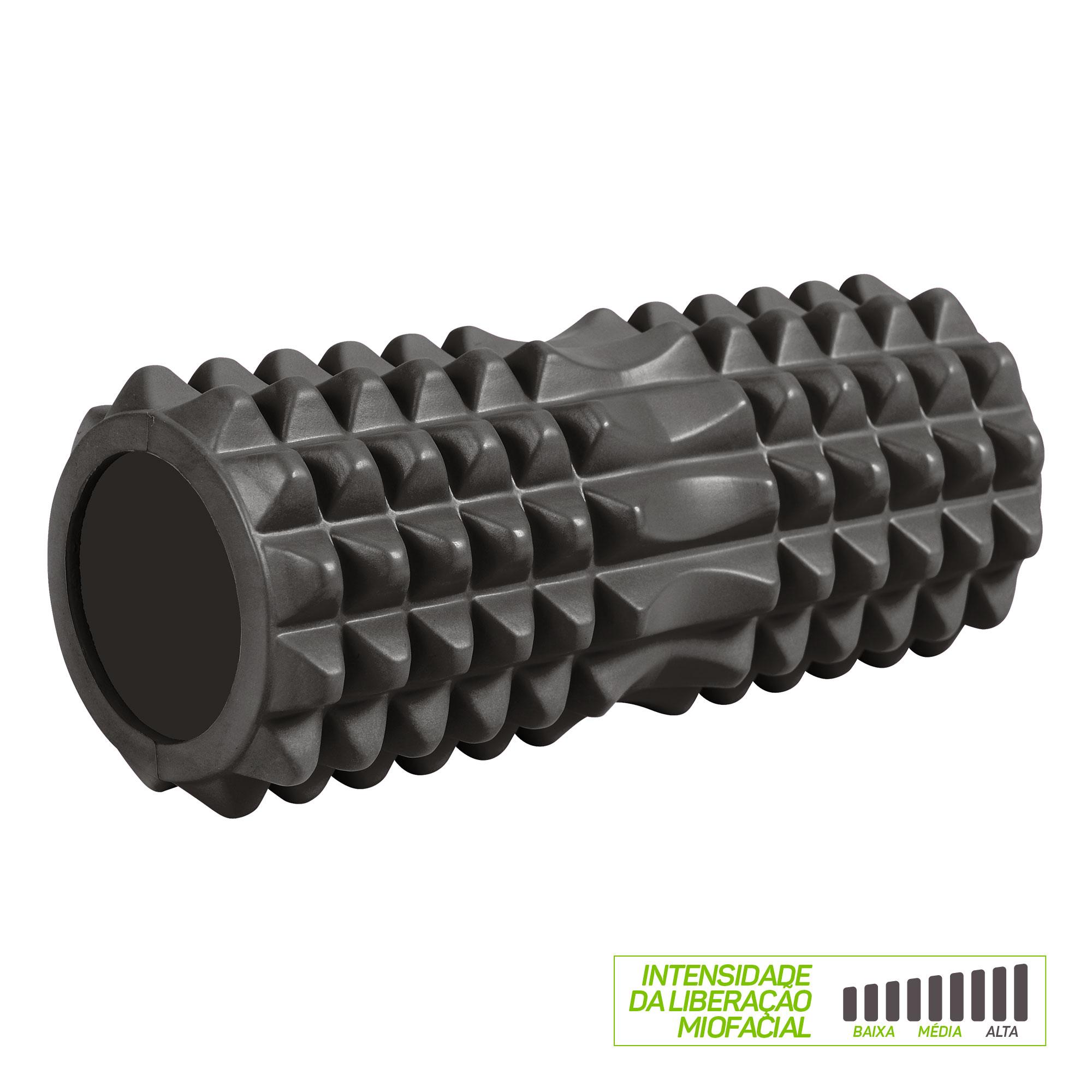Rolo de Massagem Liberação Miofascial Texturizado Y - EVA+PVC - 33x14cm 09104