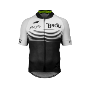 Camisa Brou ASW White/Black 2019