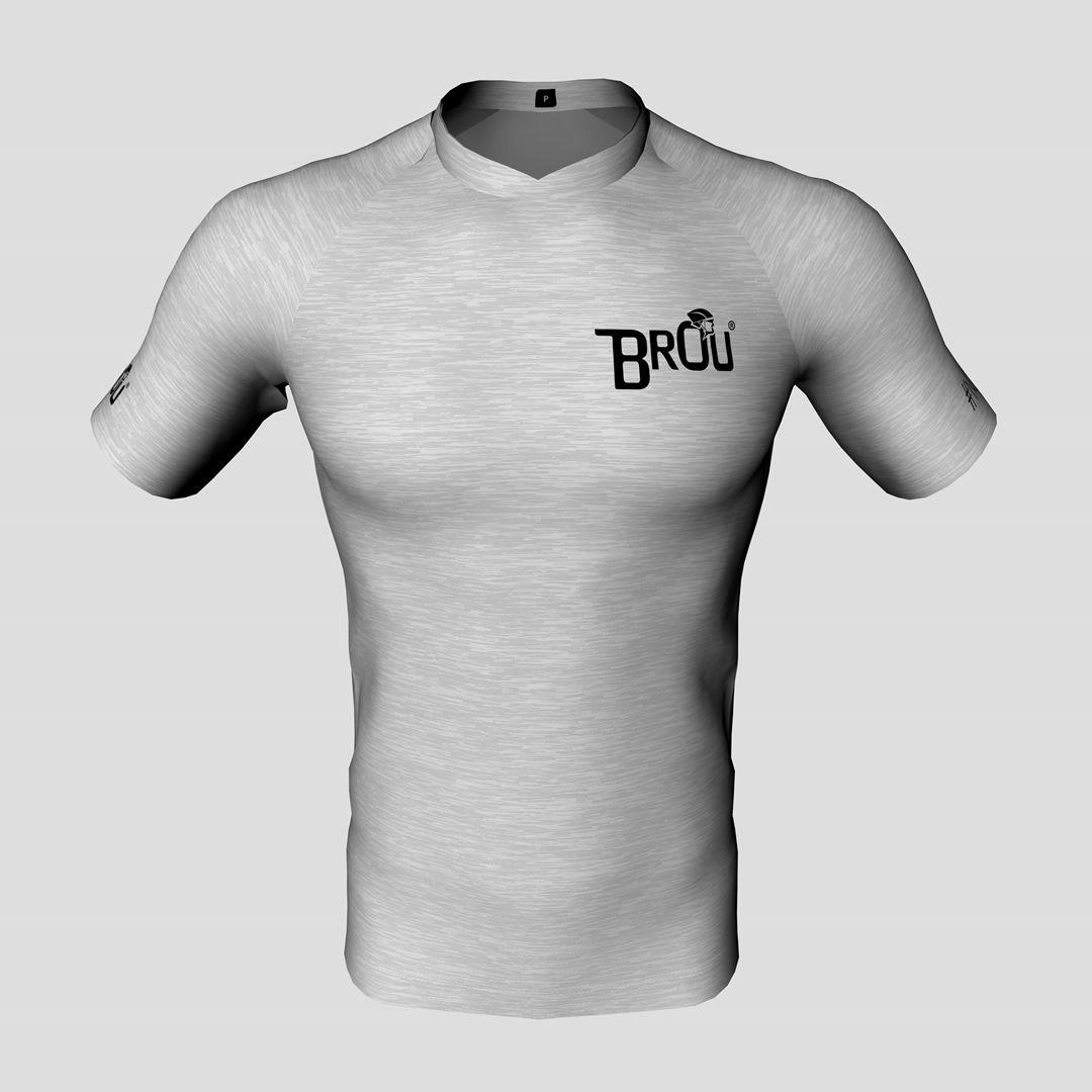 Camisa Brou Casual Cinza