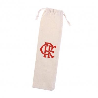 Bolsa de Algodão Para Canudos do Flamengo