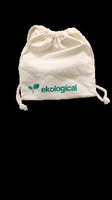 Bolsa Porta Copo Algodão Cru Ekological