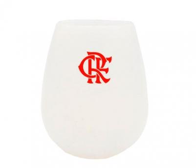 Copo de Vinho de Silicone do Flamengo 350ml