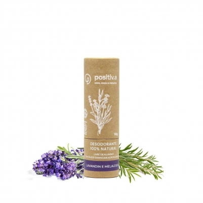 Desodorante Sólido Vegano 50g Aroma Lavandin