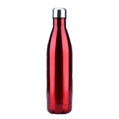 Garrafa Térmica de Inox Parede Dupla 750ml Vermelho