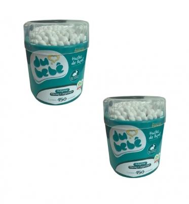Kit Hastes Biodegradáveis de Papel  (300 unidades)