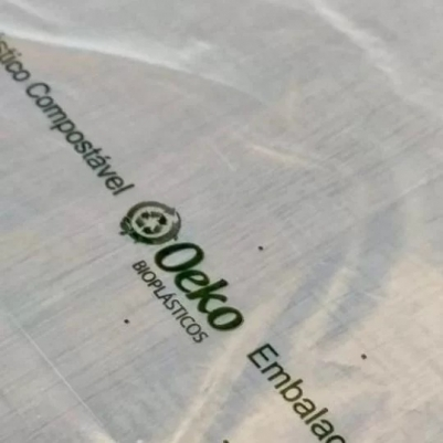 Kit 50 Sacolas Bioplásticas Compostáveis