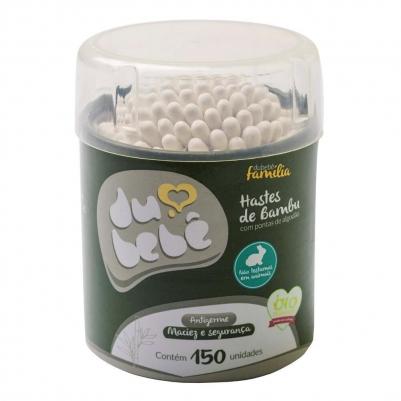Kit Hastes Biodegradáveis de Bambu  (300 unidades)