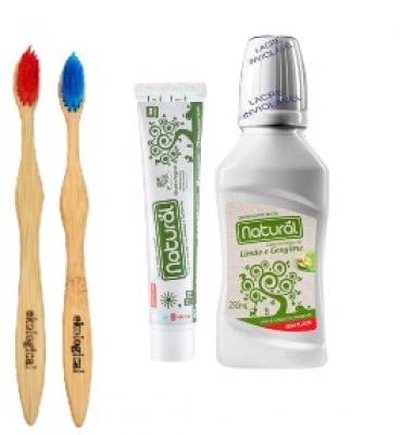 Kit Higiene Bucal Para Casal