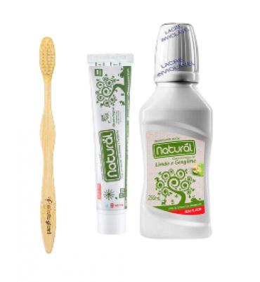 Kit Higiene Bucal Para Viagem