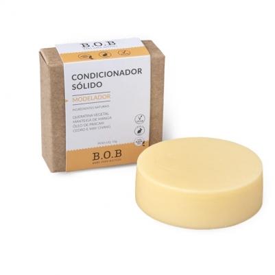 Kit Shampoo Hidratante e Condicionador Modelador em Barra e Saboneteiras de Bambu