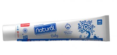 Pasta de Dente Natural Vegana Baby de Banana