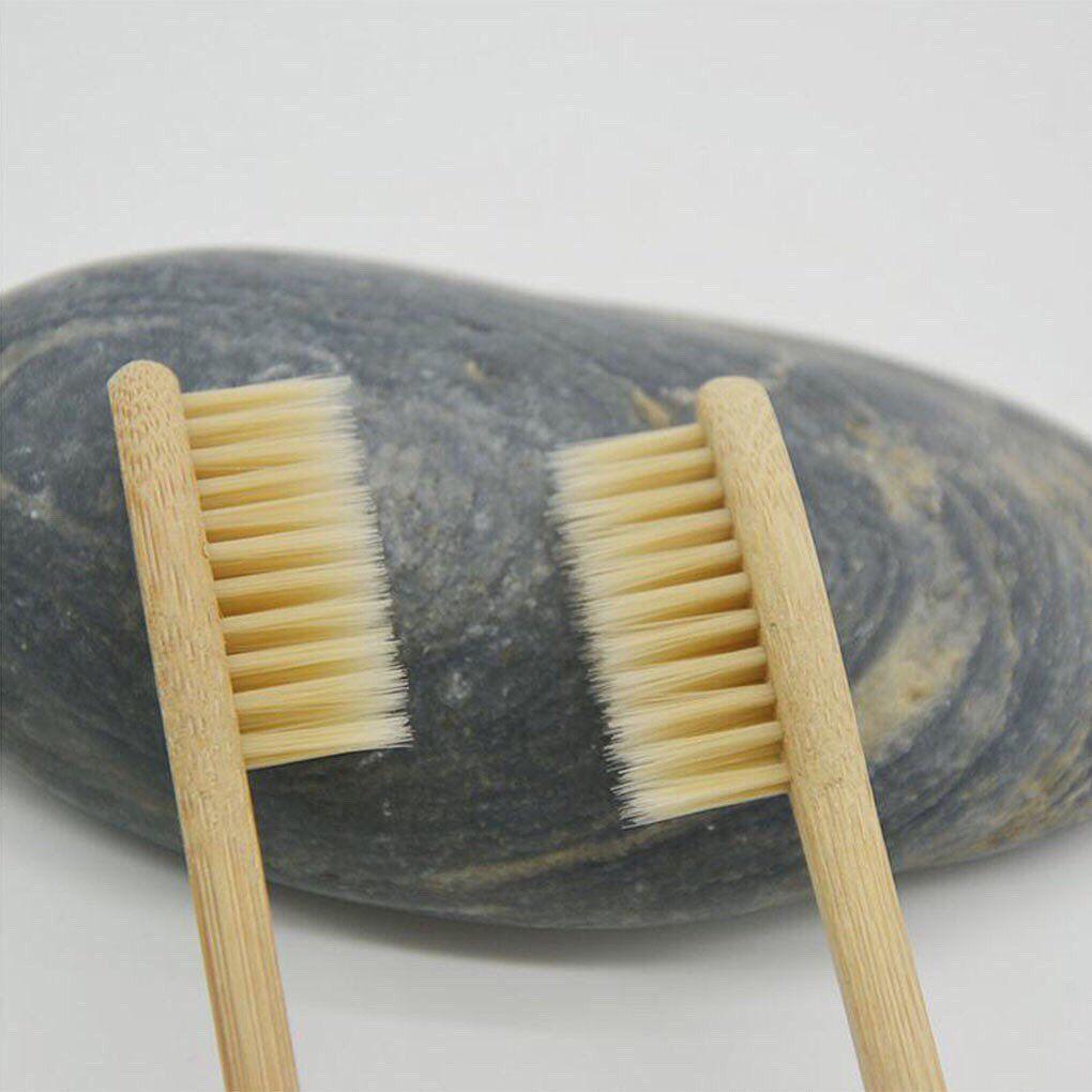 5 Escovas de Dente Ecológicas de Bambu