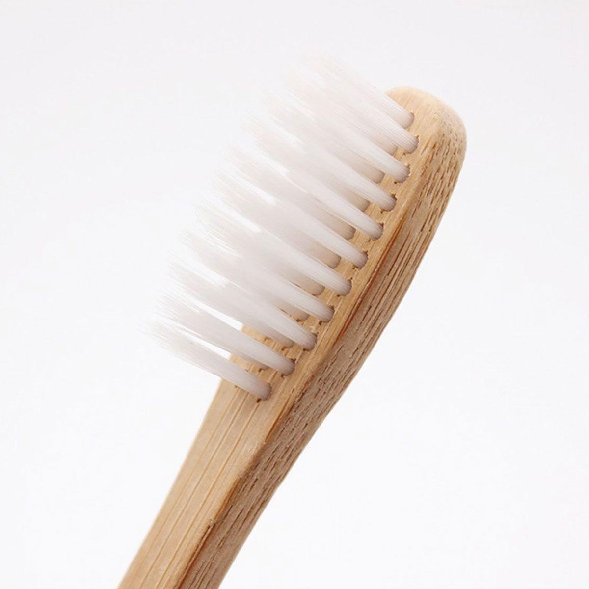 5 Escovas de Dente Ecológicas de Bambú